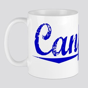 Canfield, Blue, Aged Mug