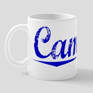 Camara, Blue, Aged Mug