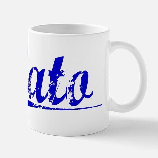 Cato, Blue, Aged Mug