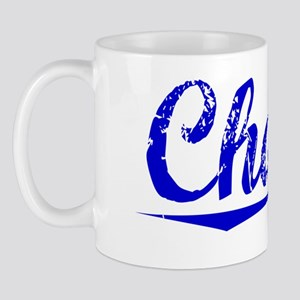 Chapin, Blue, Aged Mug