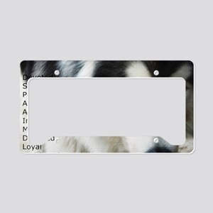 Proud to be a Malamute License Plate Holder