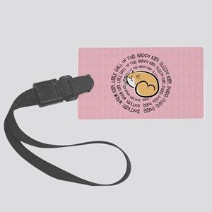 Sing Soft Kitty Large Luggage Tag