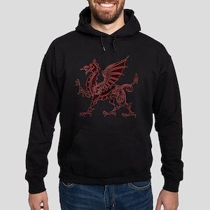 Red Dragon Hoodie (dark)