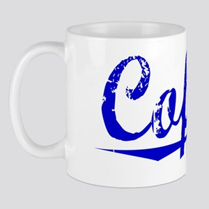 Cofield, Blue, Aged Mug