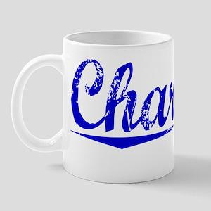 Charlton, Blue, Aged Mug