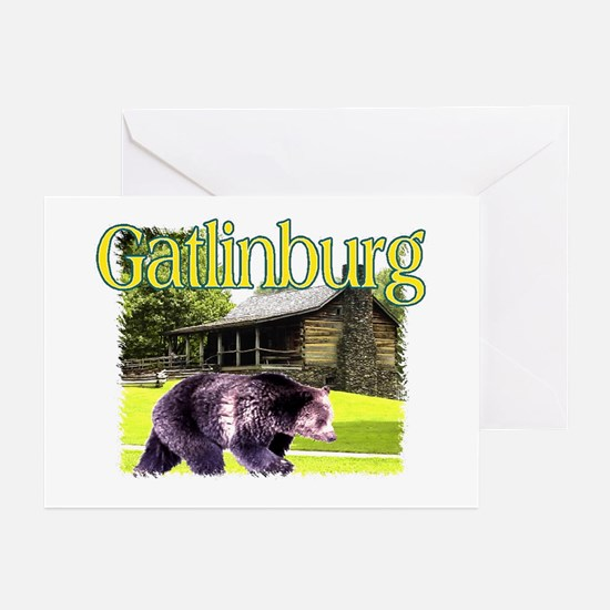 Gatlinburg Bear Greeting Cards (Pk of 10)