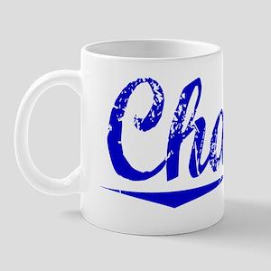 Charon, Blue, Aged Mug