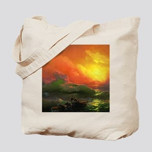 Ivan Aivazovsky The Ninth Wave Tote Bag