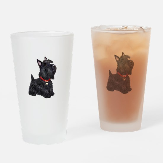 Scottish Terrier #2 Drinking Glass
