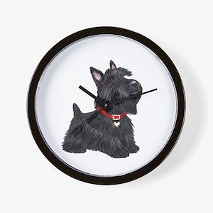 Scottish Terrier #2 Wall Clock