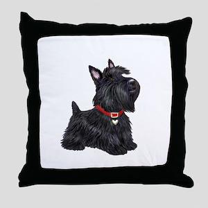 Scottish Terrier #2 Throw Pillow