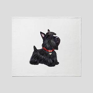 Scottish Terrier #2 Throw Blanket