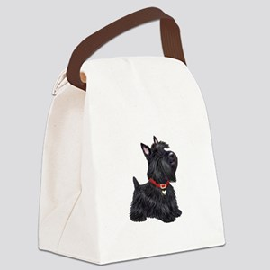 Scottish Terrier #2 Canvas Lunch Bag