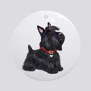 Scottish Terrier #2 Ornament (Round)