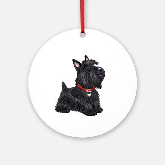 Scottish Terrier #2 Ornament (Round)