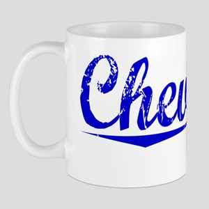 Chevalier, Blue, Aged Mug