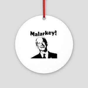 Malarkey: Round Ornament