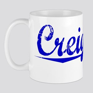 Creighton, Blue, Aged Mug