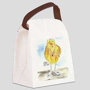 Nurse Chic Canvas Lunch Bag