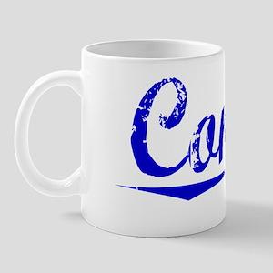 Conley, Blue, Aged Mug