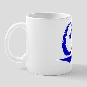 Cora, Blue, Aged Mug