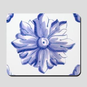 DELFT FLOWER TILE Mousepad