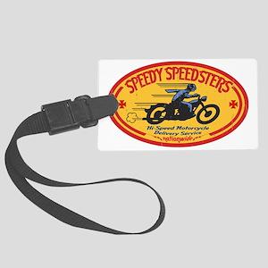 speedsters2-OV-HAT Large Luggage Tag
