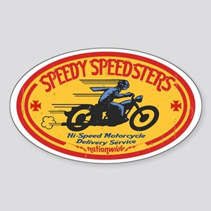 speedsters2-OV-HAT Sticker (Oval)