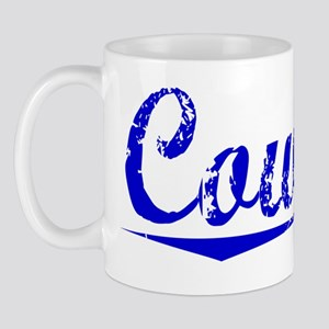 Coward, Blue, Aged Mug