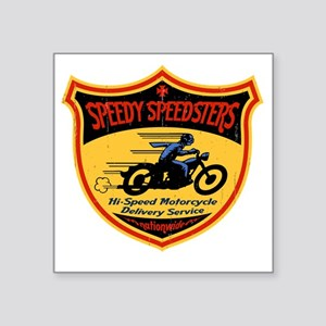 "speedsters2-T Square Sticker 3"" x 3"""
