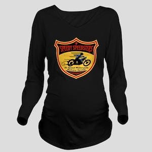 speedsters2-T Long Sleeve Maternity T-Shirt
