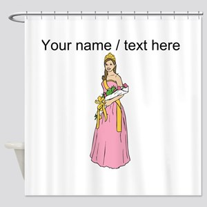 Custom Prom Queen Shower Curtain