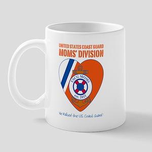 USCG Mom N Dad Divisions Mug
