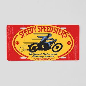 speedsters2-OV Aluminum License Plate