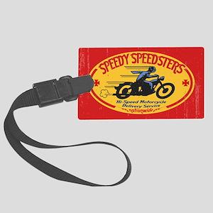 speedsters2-OV Large Luggage Tag