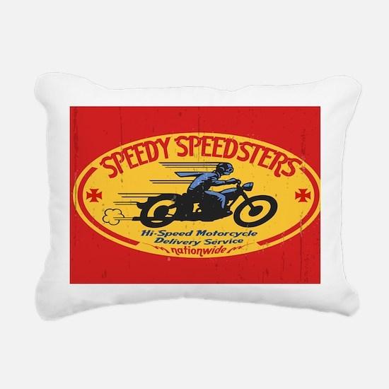 speedsters2-OV_CAP Rectangular Canvas Pillow