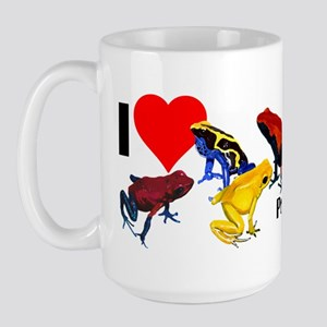 Poison Dart Frog Bumper Sticker Large Mug