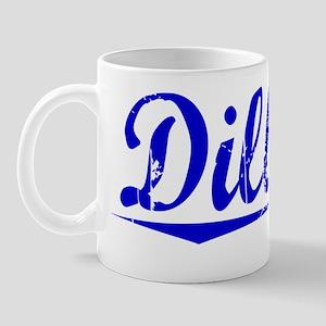 Dilbeck, Blue, Aged Mug