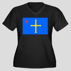 Asturina con la estrella roja - Plus Size T-Shirt