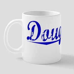 Dougherty, Blue, Aged Mug