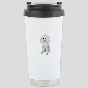 Poodle - Min (W) Stainless Steel Travel Mug
