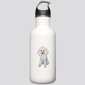 Poodle - Min (W) Stainless Water Bottle 1.0L