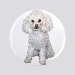 """Poodle - Min (W) 3.5"""" Button"""