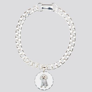 Poodle - Min (W) Charm Bracelet, One Charm