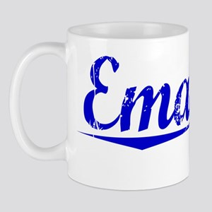 Emanuel, Blue, Aged Mug