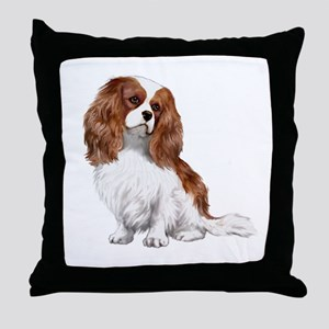 Cavalier (blenheim2) Throw Pillow