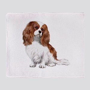 Cavalier (blenheim2) Throw Blanket