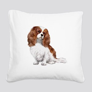 Cavalier (blenheim2) Square Canvas Pillow