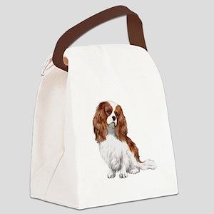 Cavalier (blenheim2) Canvas Lunch Bag