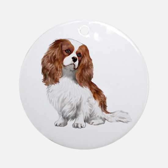 Cavalier (blenheim2) Ornament (Round)
